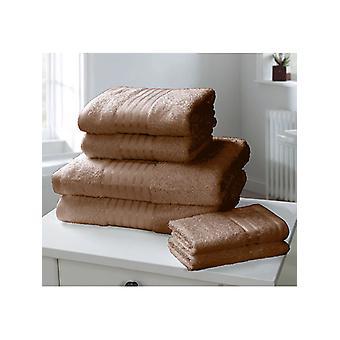 Windsor 6 Piece Towel Bale Chocolate