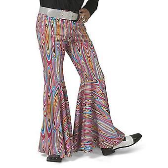 Pantaloni anni 60 Pantaloni Da discoteca Da uomo Sabato notte febbre Schlager Party Costume da Uomo