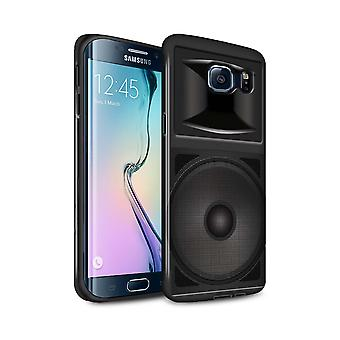 STUFF4 Gloss Tough Case for Samsung Galaxy S6 Edge+/Studio Monitor/Speaker