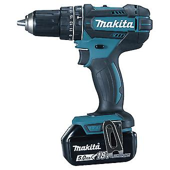 Makita Combined Drill 18V. 4.0Ah. 0-1.900Rpm. 62Nm. 1.8kg DHP482RME