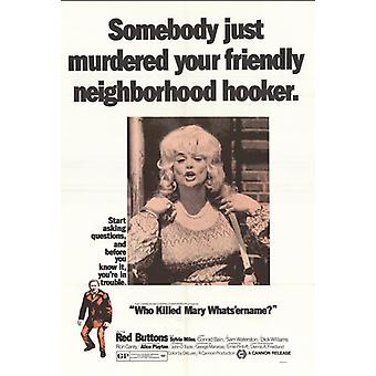 Who Killed Mary Whats Er Name Movie Poster Print (27 x 40)