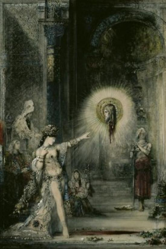 The Apparition  1874-76 Gustave Moreau  WaterCouleur on paper Musee du Louvre Paris France Poster Print