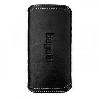 Bugatti TwoWay leather case Samsung Galaxy S4 i9500 black