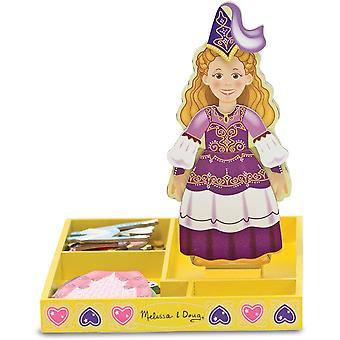 Melissa & Doug magnétique Dress up - princesse Elise