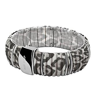 Hip Hop Ladies Bracelet Bangle Silicone Kint HJ0142 leopard