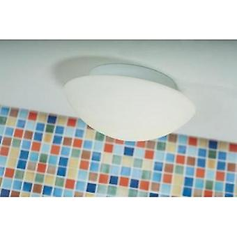 Bathroom flush mount ceiling light HV halogen, LED E27 80 W Nordlux Ufo Maxi 25626001 White