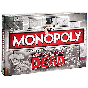 Walking Dead Monopol Family Board Game - 2 bis 6 Spieler