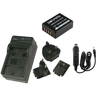 Dot.Foto Fujifilm NP-W126 - 7.2v / 1260mAh Battery and Battery Travel Charger