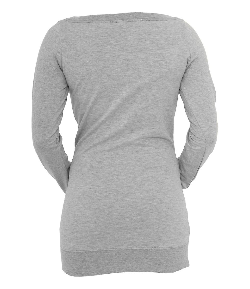 Urban Classics Ladies Long Crewneck