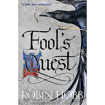 Fitz And The Fool:Fools Quest by Hobb Robin