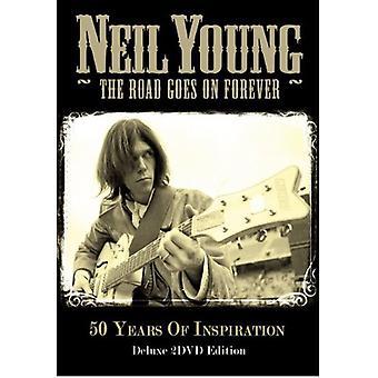 Neil Young - vejen går på evigt [DVD] USA import