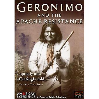 Geronimo & Apache modstand [DVD] USA importerer