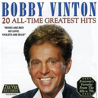 Bobby Vinton - 20 All-Time Greatest Hits CD] USA importerer