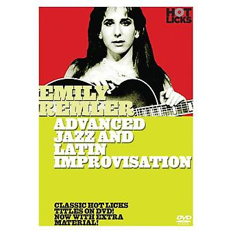 Emily Remler - avanceret Jazz & Latin Improvisation [DVD] USA import