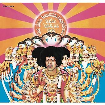 Jimi Hendrix Experience - Axis: Bold as Love [Vinyl] USA import