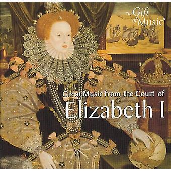Elizabethan Consort - Elizabeth jeg [CD] USA importerer