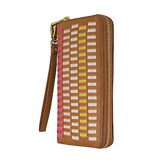 FOSSIL ladies wallet purse coin purse with RFID-chip protection Brown 6269