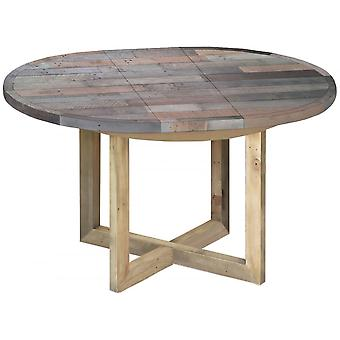 Classic Sorrento Reclaimed Round Extending Table