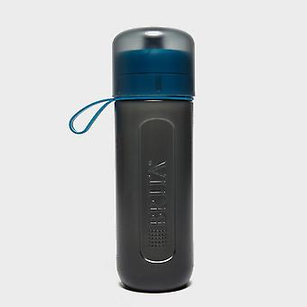 Grey and blue Brita fill&go Active Water Bottle