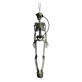 Posable Hanging Steampunk Skeleton 36 inch