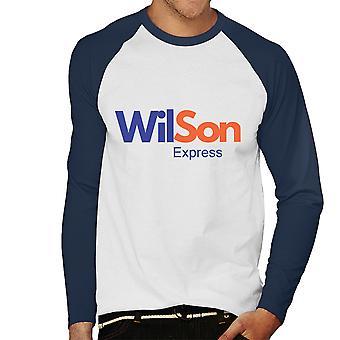 Fedex Logo Wilson Cast Away Men's Baseball Long Sleeved T-Shirt
