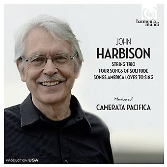 Harbison / Camerata Pacifica - String Trio / 4 Songs of Solitude / Songs America Loves to Sing [CD] USA import