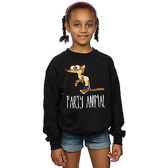 Disney Girls Zootropolis Party Animal Sweatshirt
