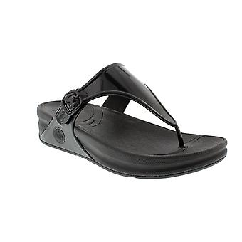 FitFlop Superjelly - tutti i nero Womens sandali