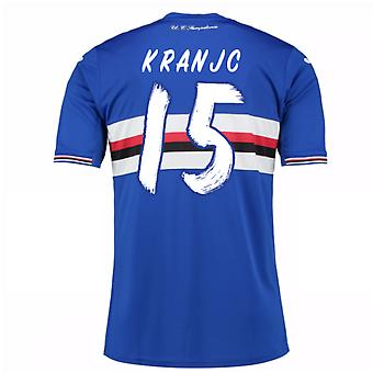 2016 / 17 Sampdoria Home Shirt (Kranjc 15)