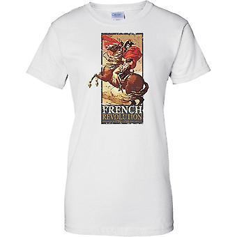 Napolean Bonaparte - franske revolusjonen i 1789-1799 - damer T skjorte