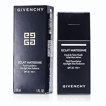 Givenchy Eclat Matissime Fluid Foundation Spf 20 - # 3 Mat Sand - 30ml/1oz