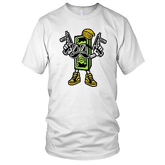 Cash Rules Cool UZI DJ Kids T Shirt
