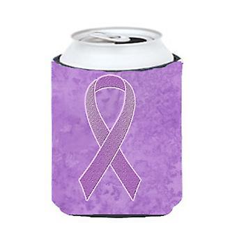 خزامي الشريط لكل يمكن الوعي بمرض السرطان أو زجاجة نعالها