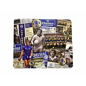 Chelsea FC Official Football Retro Computer Mouse Mat