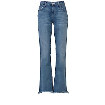Current Elliott women's 14770400B blue cotton of jeans