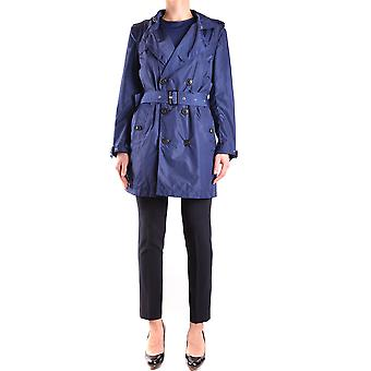 Burberry Damen MCBI056254O Blau Polyamid Trench Coat