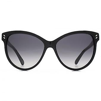 Stella McCartney Essentials Cateye las gafas de sol en negro