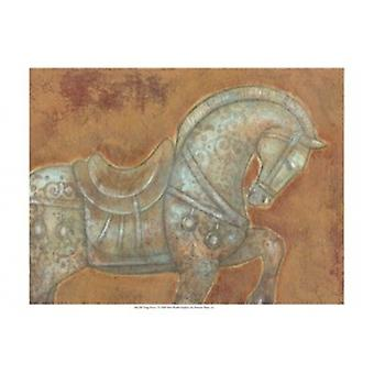 Tang Horse I Poster Print by Norman Wyatt (19 x 13)