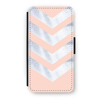 iPhone X Flip Case - Marble arrows