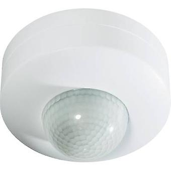 Ceiling, Surface-mount PIR motion detector Renkforce 1296308 360 ° Relay White IP20