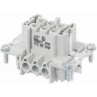 Wieland 70.300.1640.0 70.300.1640.0 Industrial Connector, 16 Pin + PE Socket insert