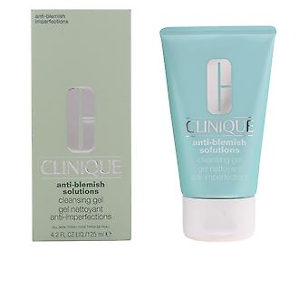 Clinique Anti Blemish Solutions Cleansing Gel 125ml Womens New
