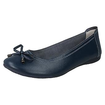 Ladies Down To Earth Ballerinas F80380