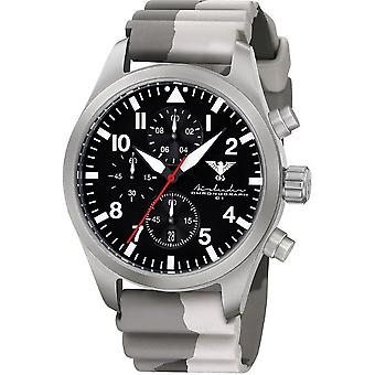 KHS mens watch Airleader Steel Chronograph KHS. AIRSC. DC5