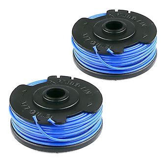 2 x Spool & Line Fits Flymo Power Trim 300, 500, 500XT, 700 Strimmer Trimmer