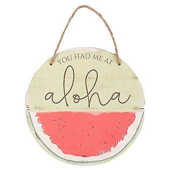 Something Different Watermelon Plaque