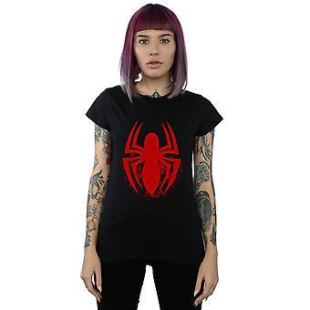 Marvel Spiderman Logo Emblem Frauenunterhemde