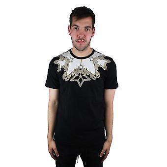 Versace colección V800683S VJ00289 V7008 negro t-shirt