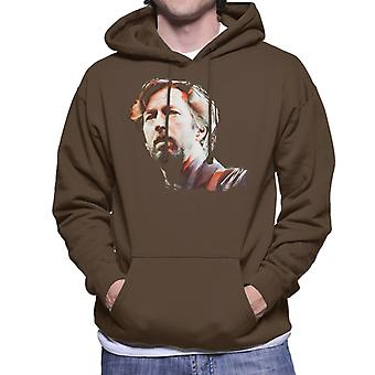 Eric Clapton At The Brighton Centre 1992 Men's Hooded Sweatshirt