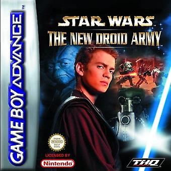 Star Wars Episode II - The New Droid Army GBA Game (Game Boy Advance)